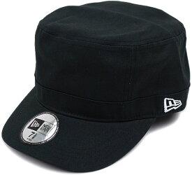 NEWERA ニューエラ キャップ CAP WM-01 ミリタリー ワークキャップ ブラック[N0002224 SC/11135293][NEW ERA]