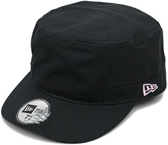 NEWERA NEWERA, new era Cap CAP WM-01 military Cap Black pinkflag (SC N0000192) (NEW ERA)