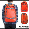 NIXON尼克鬆包SMITH SKATEPACK II史斯密溜冰包2(帆布背包日包)RED-PEPPER/CHARCOAL(NC19541745-00 SS14)1215_NIXON_SMITH II