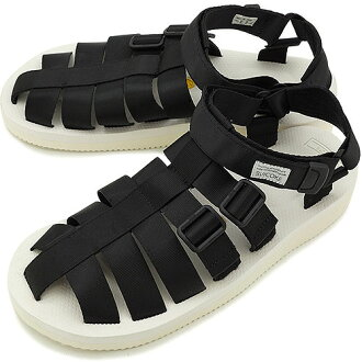 SUICOKE sicock 涼鞋小丑-V (vibram 鞋墊) 白 (sc00021-18 SS14)
