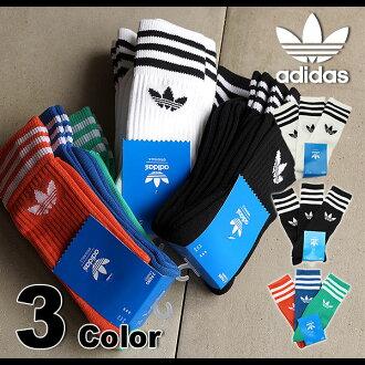 adidas Originals愛迪達原始物襪子SOLID CREW SOCK固體船員高統襪(S21489/S21490/S21491 SS15)