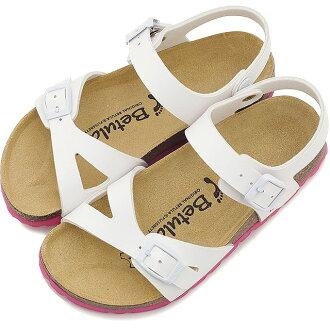 由勃肯勃肯孩子由樺樺孩子涼鞋路易莎 · 路易莎 vircoflow 白色 (BL057413 SS15)