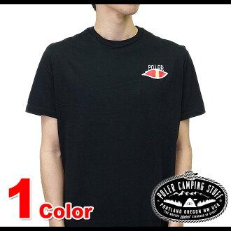 形極地戶外男裝 MANWOLF 男裝人狼 T 恤 (511114 BLK SS15)