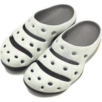 热衷于热衷于 Yogui 艺术 WMNS 时钟凉鞋瑜珈艺术妇女夏威夷花银 1003584)