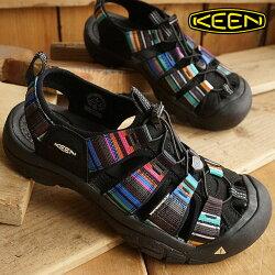 キーンニューポートH2スポーツサンダル靴KEENNewportH2RayaBlackMNS[1001942]