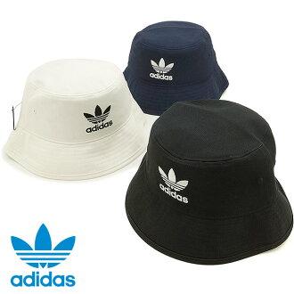 阿迪達斯原件棉斜紋桶帽子核心服裝男裝女裝阿迪達斯原件鬥帽子核心 AJ8995/S94586/S94587