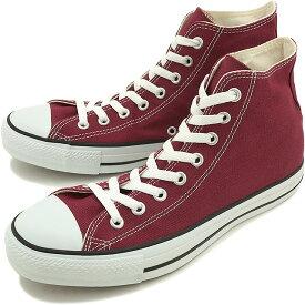 【即納】コンバース キャンバス オールスター ハイカット CONVERSE CANVAS ALL STAR HI マルーン 靴 [32060132][e]