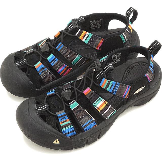 【即納】キーン ニューポート H2 スポーツサンダル 靴 ウィメンズ KEEN Newport H2 WMNS Raya Black 1003480-RYBK
