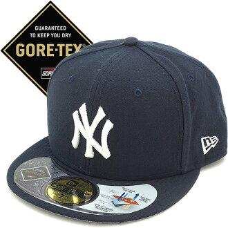 뉴 에러 뉴욕・양키스 고어 옷감 캡 NEWERA 맨즈 레이디스 59 FIFTY NYY GORE -TEX CAP (11226273 SS16)