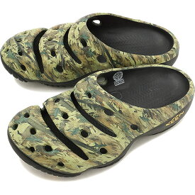 キーン ヨギ アーツ KEEN Yogui Arts MNS Camo Green クロックサンダル 靴 メンズ [1002034]