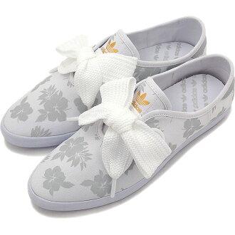 愛迪達原始物扒手比賽花運動鞋adidas Originals RELACE FLOWER跑步白/跑步白/跑步白AQ4372 SS16