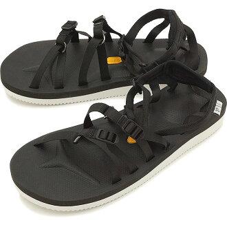 suicoke sicock 男裝女裝 Vibram 鞋底涼鞋 SUICOKE TOSSHI V 黑色 (OG-050 V SS16)