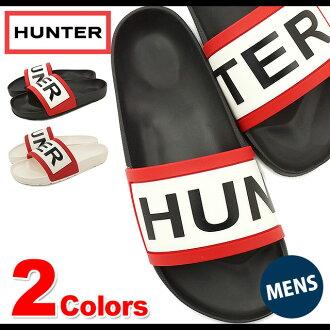 HUNTER猎人淋浴凉鞋雨鞋人MENS ORIGINAL HUNTER SLIDE原始物猎人放映装置(HMFD4016EVA SS16)