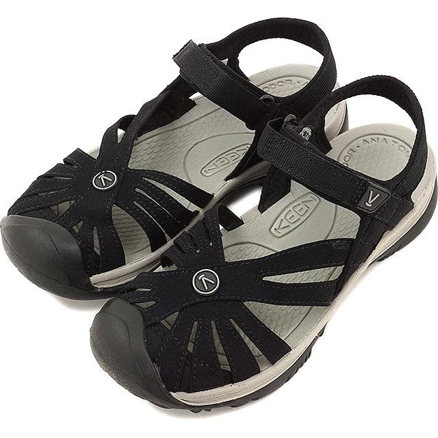 キーン ローズサンダル 靴 KEEN Rose Sandal Black/Neutral WMN ウォーターシューズ サンダル 靴 ウィメンズ Gray(1008783)【ar】【コンビニ受取対応商品】