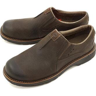 MERRELL REALM MOC MEN CHOCOLATE 렐 남성 영역 모의 슬립 워킹 신발 (42147)