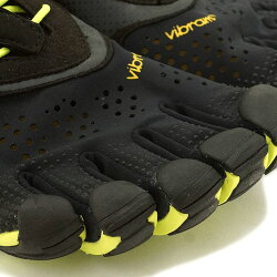 VibramFiveFingersビブラムファイブフィンガーズメンズV-RunBlack/Yellowビブラムファイブフィンガーズ5本指シューズベアフット(16M3101)