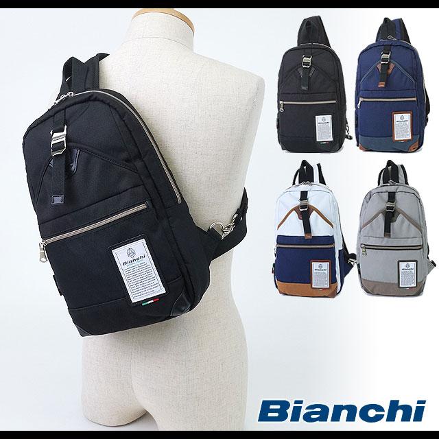 【即納】ビアンキ メンズ レディース Bianchi バッグ ボディバッグ (BYUY-01 SS16)【コンビニ受取対応商品】