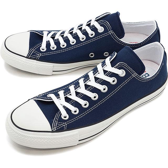 【即納】コンバース オールスター 100 カラーズ ローカット ネイビー CONVERSE ALL STAR 100 COLORS OX 靴 (32861795 SS17)【コンビニ受取対応商品】