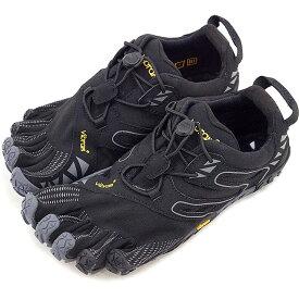 【4/5限定!楽天カードでP19倍】Vibram FiveFingers ビブラムファイブフィンガーズ レディース WMNS V-TRAIL BLACK/GREY ビブラム ファイブフィンガーズ 5本指シューズ ベアフット 靴 [17W6905]