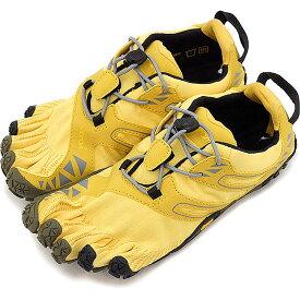 【4/5限定!楽天カードでP19倍】Vibram FiveFingers ビブラムファイブフィンガーズ レディース WMNS V-TRAIL YELLOW/BLACK ビブラム ファイブフィンガーズ 5本指シューズ ベアフット 靴 [17W6907]