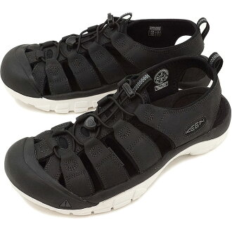 KEEN基恩纽波特A球座V凉鞋人NEWPORT ATV MNS Black/Star White(1016865 SS17)