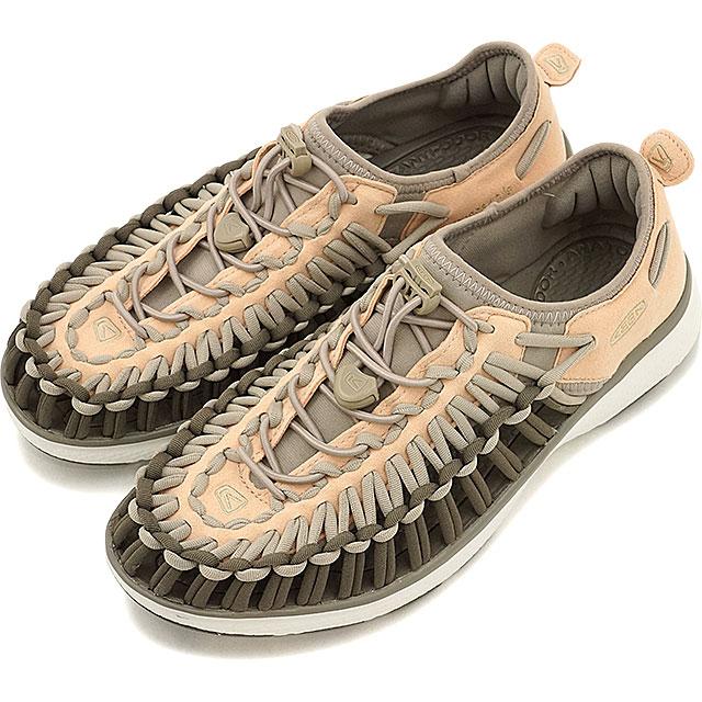 キーン ユニーク O2 サンダル 靴 レディース KEEN UNEEK O2 WMN Amberlight/Aluminum (1017226 SS17)【コンビニ受取対応商品】