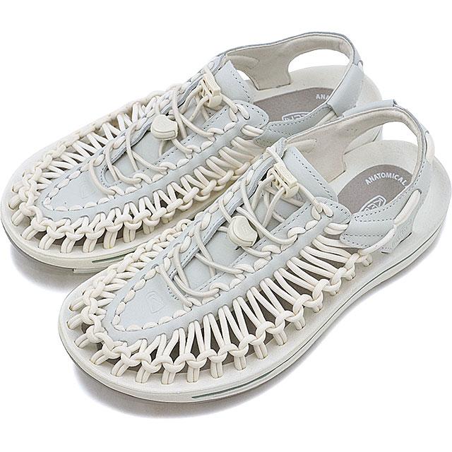 【即納】【限定モデル】KEEN キーン ユニーク レザー サンダル 靴 レディース UNEEK LEATHER WMN White/Star White (1017065 SS17)【コンビニ受取対応商品】
