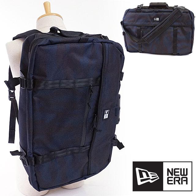 【在庫限り】NEWERA ニューエラ キャップ バッグ New Era 3WAY BAG Backpack 3ウェイバッグ(バックパック・ショルダーバッグ・ブリーフケース) 鞄 リュックサック TSCネイビー/ブラック (11404847 SS17)【ts】【コンビニ受取対応商品】