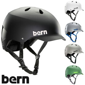 【JAPAN FIT】bern バーン ヘルメット MNS メンズ WATTS ワッツ [VM5]
