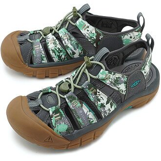 KEEN基恩纽波特H二凉鞋人Newport H2 MNS Booktree Camo(1017075 SS17)