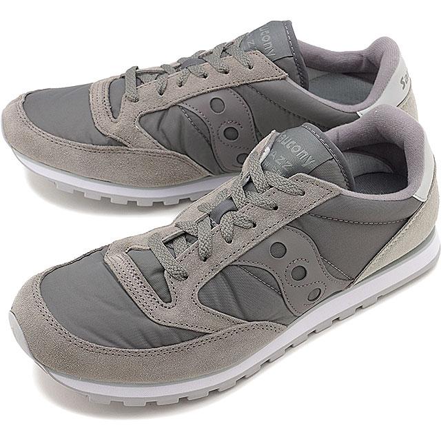 【即納】SAUCONY サッカニ— JAZZ LOWPRO ジャズ ロープロ グレー メンズ レディース スニーカー 靴 (S2866-215 SS17)【コンビニ受取対応商品】