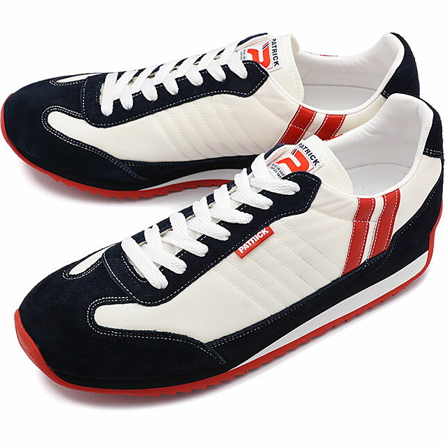 【返品送料無料】パトリック スニーカー PATRICK メンズ レディース 靴 MARATHON マラソン ホワイト9420 日本製 スニーカ sneaker パトリック