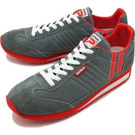 【4/9まで!楽天カードでポイント10倍】【返品送料無料】【ノベルティプレゼント】パトリック PATRICK スニーカー MARATHON マラソン メンズ・レディース 日本製 靴 GRY グレー 灰 [9624]【定番モデル】