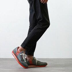 【返品送料無料】【定番モデル】パトリックPATRICKスニーカーMARATHONマラソンメンズレディース日本製靴GRYグレー灰[9624]