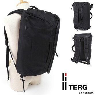 TERG tagubakkupakku Daypack 3Way日包3方法帆布背包挎包公事包商務包黑色(19930013 SS17)