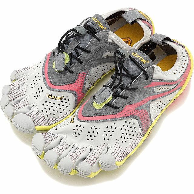 Vibram FiveFingers ビブラムファイブフィンガーズ レディース ランニングモデル WMN V-RUN OYSTER ビブラム ファイブフィンガーズ 5本指シューズ ベアフット 靴 [17W7006]