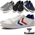 hummelヒュンメルスニーカー靴メンズレディースSLIMMERSTADILCANVASLOWスリーマースタディールキャンバスロー(HM63112K)