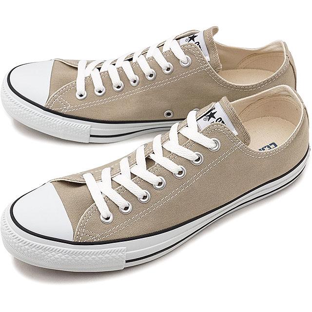 【即納】CONVERSE コンバース スニーカー 靴 メンズ・レディース ALL STAR COLORS OX オールスター カラーズ ローカット ベージュ (32860669 SS18)