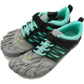 【1/31まで!ポイント10倍】Vibram FiveFingers ビブラムファイブフィンガーズ レディース スポーツシューズ V-Train Grey/Black/Aqua ビブラム ファイブフィンガーズ 5本指シューズ ベアフット 靴 [18W6601]