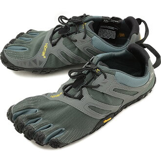 Five Vibram FiveFingers vibram five fingers men sports shoes V-Trail DarkGrey/Sage vibram five fingers finger shoes base-up feet (18M6901)