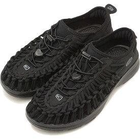 KEEN キーン ユニーク スニーカー 靴 サンダル 靴 レディース W UNEEK O2 ユニーク オーツー BLACK/BLACK [1018723]