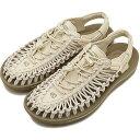【6/17 23:59迄!楽天カードで19倍】KEEN キーン ユニーク サンダル 靴 レディース W UNEEK ユニーク Whitecap/Cornstalk [1018698 SS18]