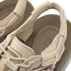 KEENキーンユニークサンダル靴レディースWUNEEKユニークWhitecap/Cornstalk(1018698SS18)【コンビニ受取対応商品】