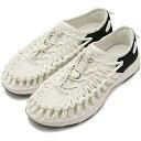KEEN基恩独特的运动鞋鞋凉鞋女士W UNEEK O2独特的O二White/Black(1018734 SS18)