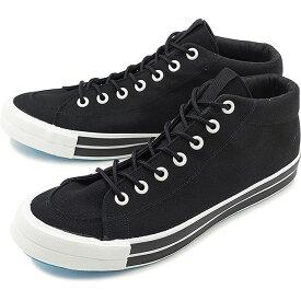 RFW アールエフダブリュー リズムフットウェア メンズ・レディース スニーカー 靴 BAGEL-MID STANDARD ベーグル ミッド スタンダード Black ブラック [R-1812031 SS18]