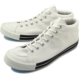 RFW アールエフダブリュー リズムフットウェア メンズ・レディース スニーカー 靴 BAGEL-MID STANDARD ベーグル ミッド スタンダード White ホワイト [R-1812031 SS18]