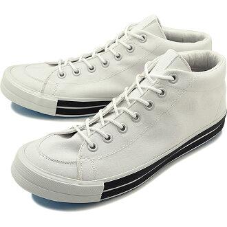 RFW RF Co., Ltd. W rhythm footwear men Lady's sneakers shoes BAGEL-MID STANDARD bagel mid standard White white (R-1812031 SS18)