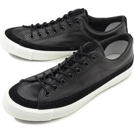 RFW アールエフダブリュー リズムフットウェア メンズ・レディース スニーカー 靴 BAGEL-LO LEATHER ベーグル ロー レザー Black ブラック [R-1812252 SS18]