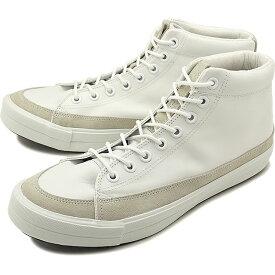 RFW アールエフダブリュー リズムフットウェア メンズ・レディース スニーカー 靴 BAGEL-HI LEATHER ベーグル ハイ レザー White ホワイト [R-1812242 SS18]