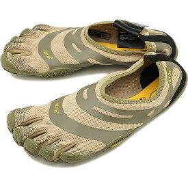 【1/31まで!ポイント10倍】ビブラムファイブフィンガーズ メンズ Vibram FiveFingers ジム フィットネス カジュアル向け 5本指シューズ EL-X ベアフット Khaki/Coyote 靴 [18M0101 SS18]